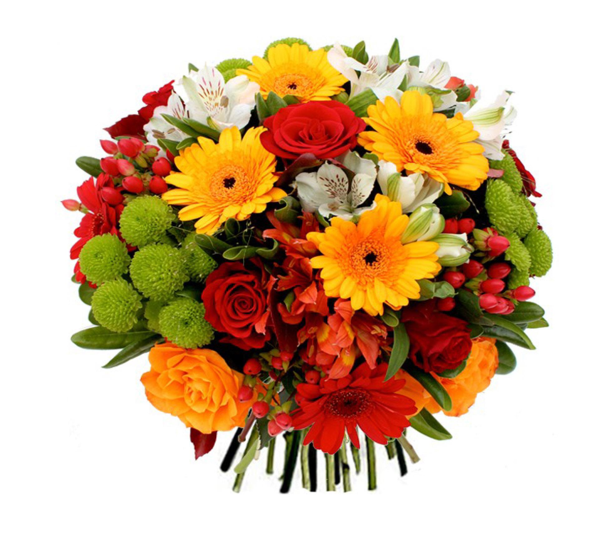 Bouquet rond espace fun raire vend en for Bouquet de fleurs rond